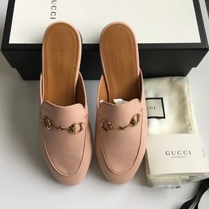 feb4306be Gucci Shoes | Princetown Mule Light Pink | Poshmark